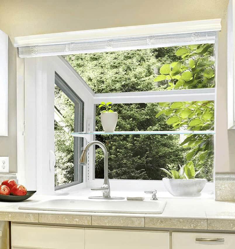 Garden Windows For Your Kitchen West, How To Install Kitchen Garden Window