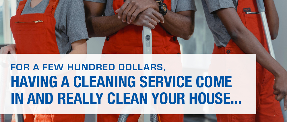 House Cleaning Service Workers