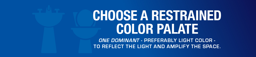 """""""Choose a Restrained Color Palate"""" Pull Quote"""
