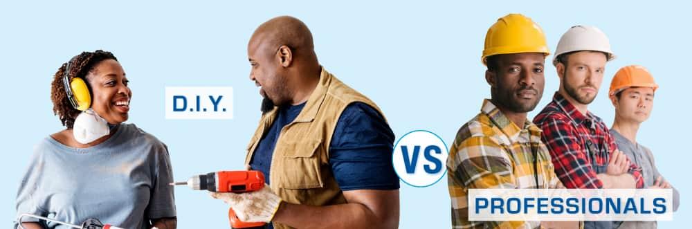 DIY Couple & Professional Contractors